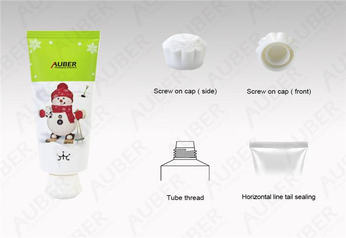 Snow Man Aluminum Cleanser Tubes