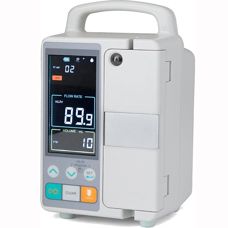 مضخة تسريب أوتوماتيكية محمولة للمعدات الطبية لوحدة العناية المركزة في المستشفى
