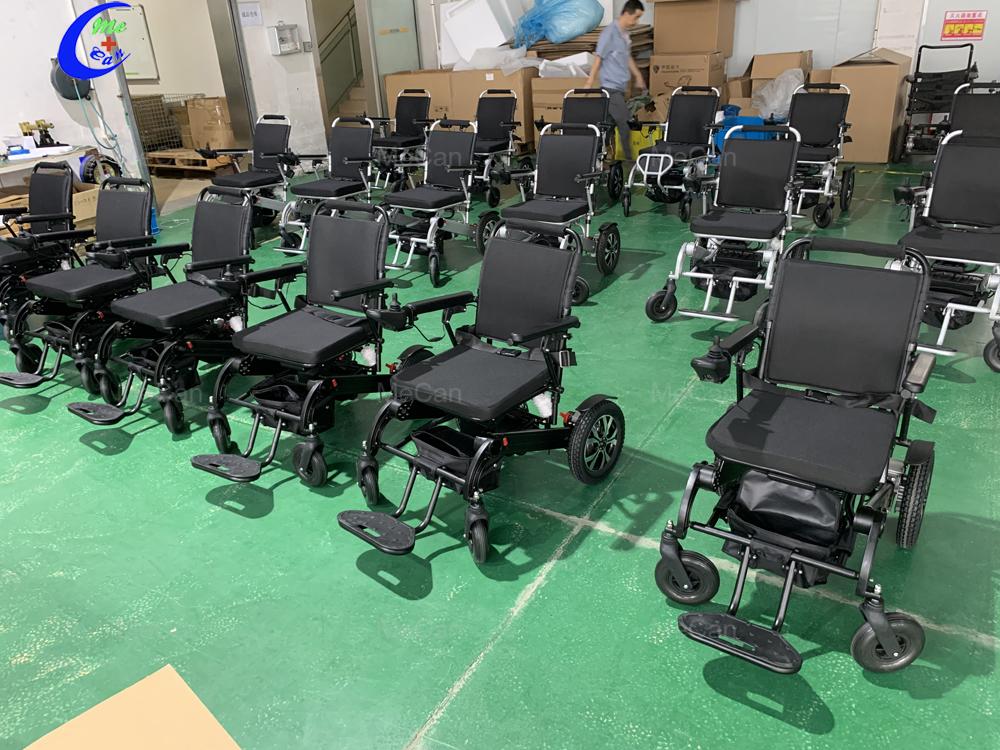Fabriek prys elektriese rolstoel aan Suid-Afrika - Mecan Medical