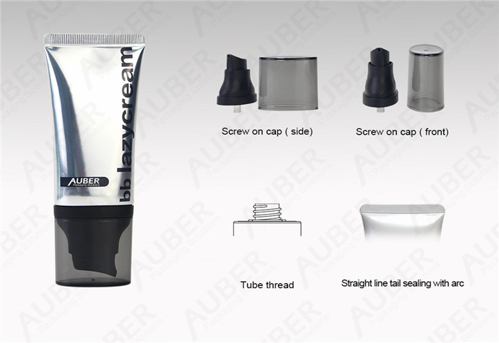 Oval Airless High Glossy Tubes