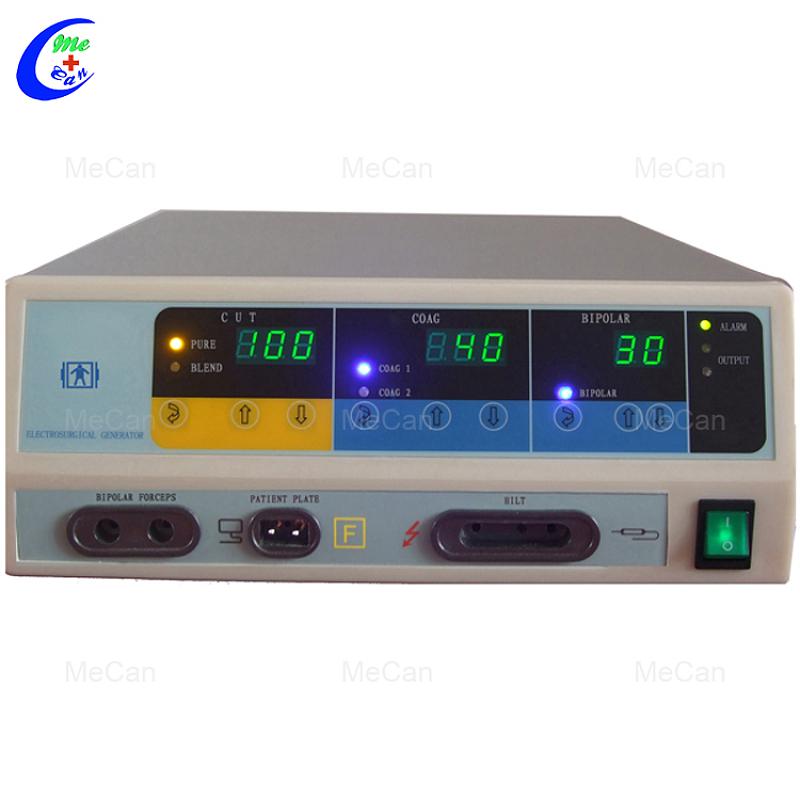 Chirurgiese hoë-frekwensie elektrokirurgiese eenheid, draagbare diatermie-masjien