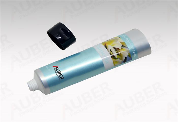 Laminated Hand Cream Tube in Dia.35mm with Black Flip Top Cap