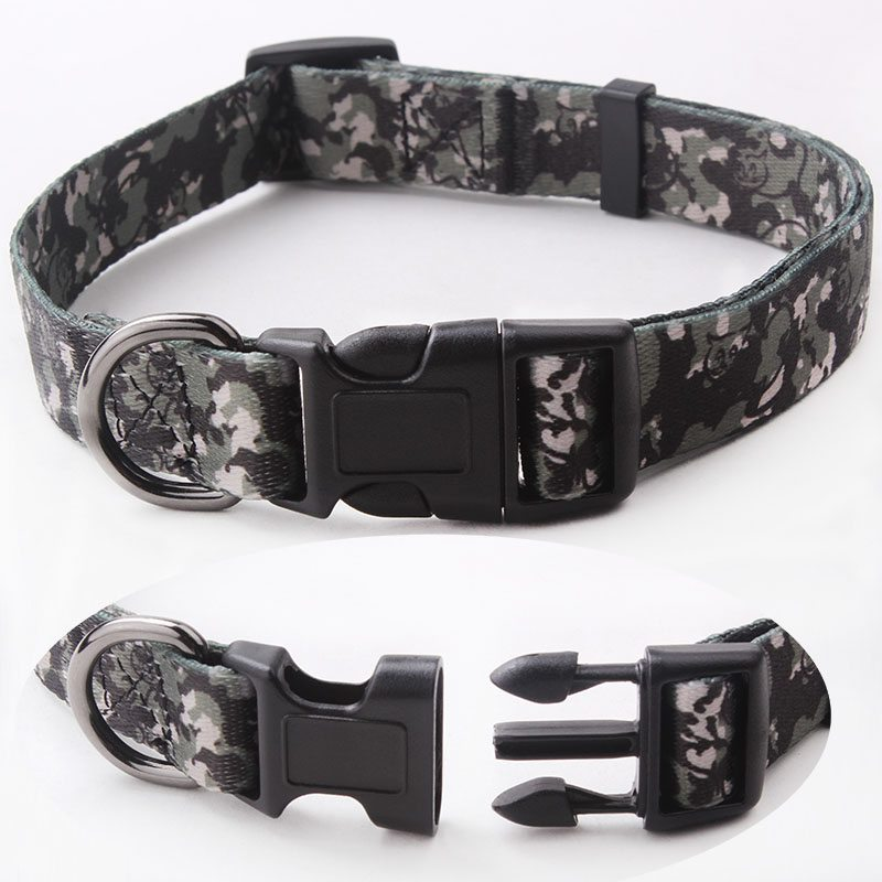 Dog Collar Factory: Professional Factory Custom Polyester Dog Collar-QQpets