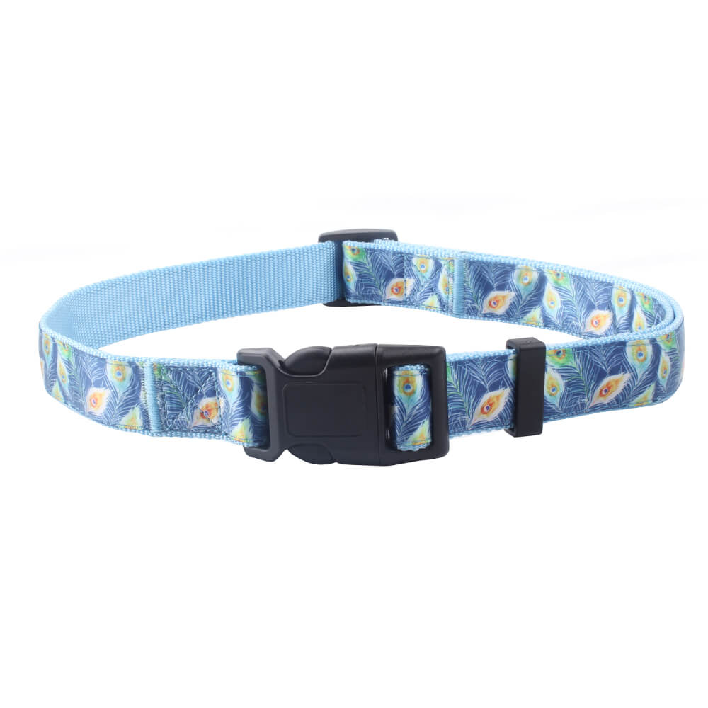 Nylon Jacquard Dog Collars: Hot Sale Best Dog Collars Supplier-QQpets
