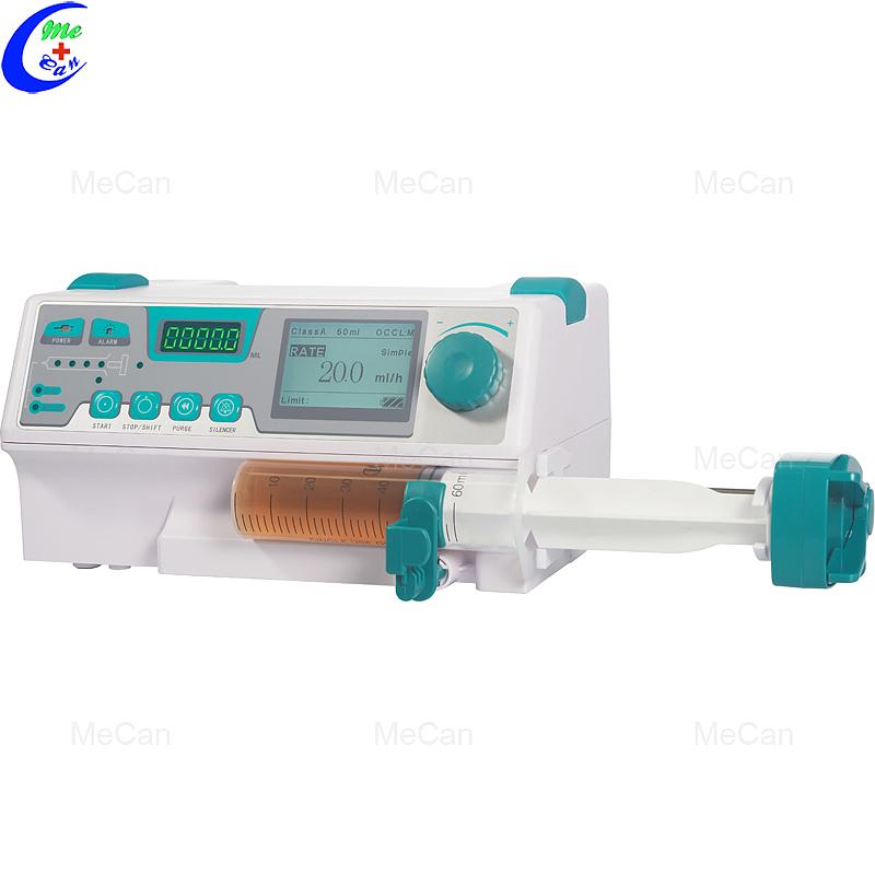 Электрычны шпрыцавы інфузійны помпа