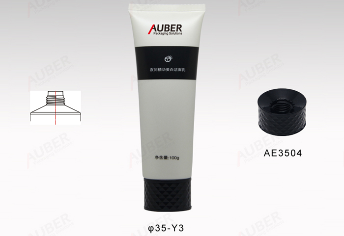 Screw Cap Squeeze Tubes For Lotion
