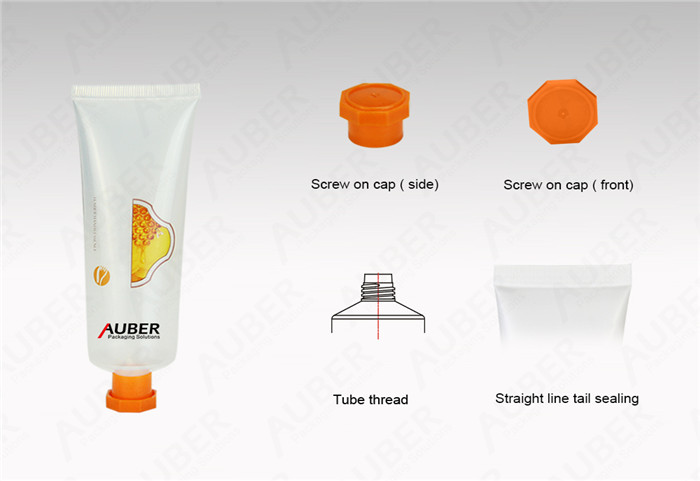 D25 Clear Cosmetic Labeling Tubes