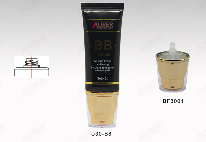 50 ml oval airless tubes