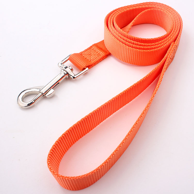 Long Dog Leads: Nylon Long Dog Leads Suppliers With Metal Hook-QQpets
