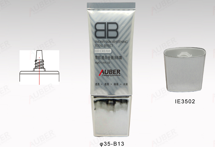 Oval Tube for Cosmetics in 35mm