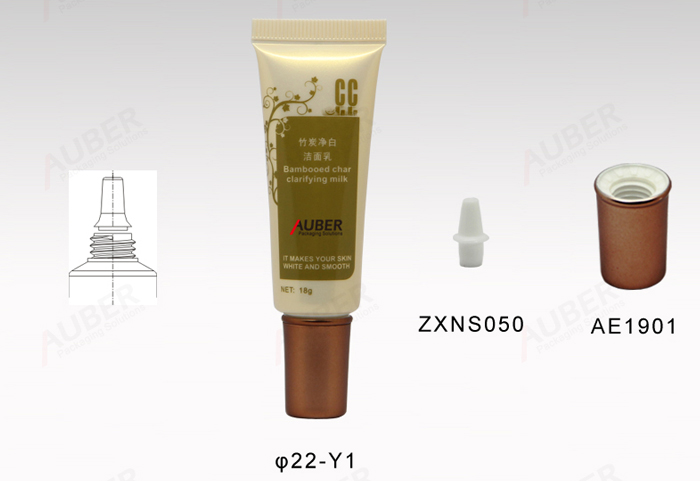 Nozzle Facial Cream Tube in D.22mm