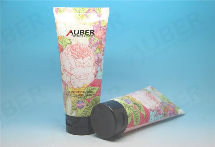 Flower Plastic Laminated Tube for Boby Cream