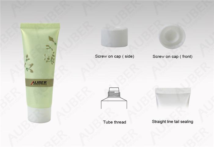 Green Tea Cosmetic Packaging Tubes