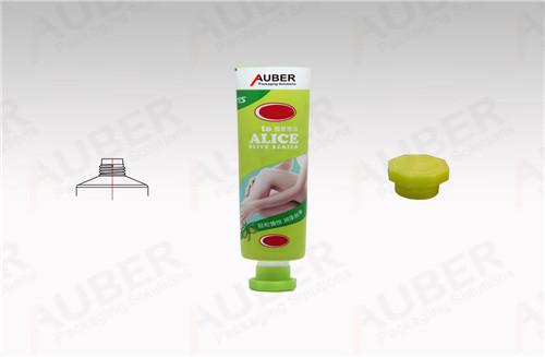Metal Skincare Tube in Dia 30mm with Octagonal Cap for Depilatory Cream