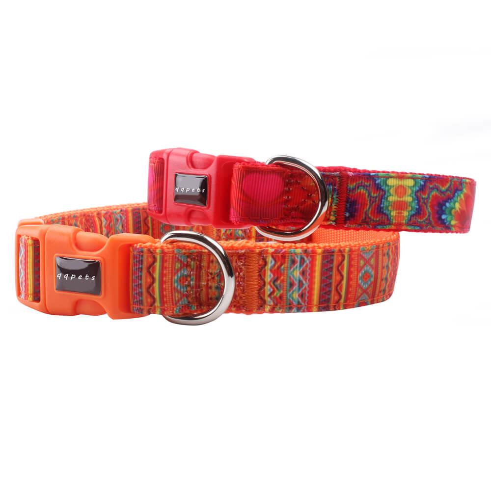 Personalized Pet Collar: Best Grade 2.0 Size Nylon Pet Collar Supplies-QQpets