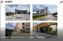 في عام 2020، بشرت Auber بتغيير جديد