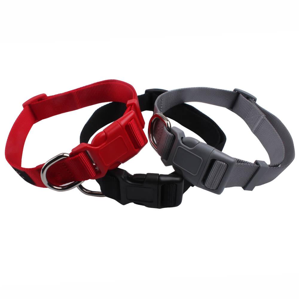 Cool dog collars: Hot sell nylon ribbon large to small dog collars supply-QQPETS