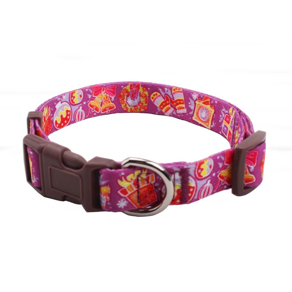 Christmas dog collars: Shop for holiday dog collars with custom logo-QQPETS
