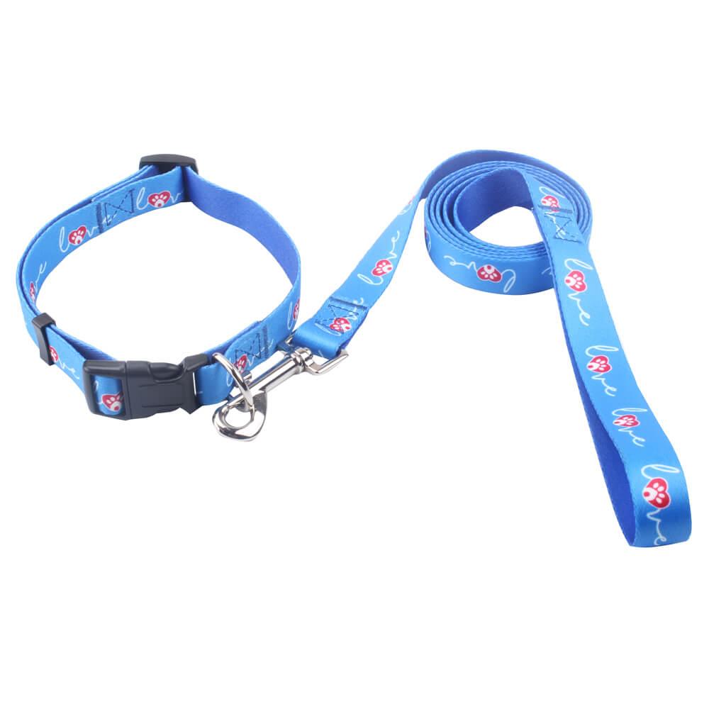 Mavi Köpek Yaka ve Tasma: En İyi Satmak Polyester Köpek Yaka ve Tasma Çevrimiçi-Qqpets