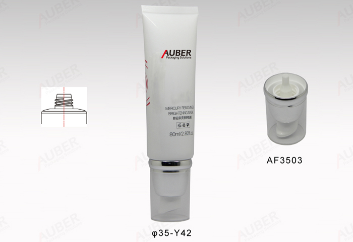 100ml Round Skincare Product Packaging