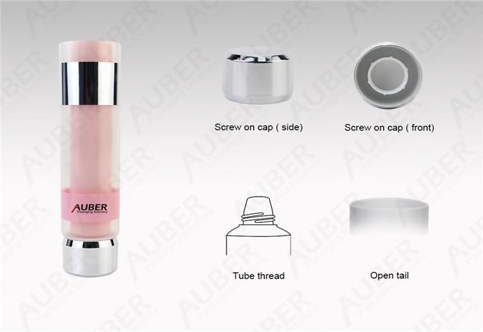 Dual Chamber Cosmetics Tube