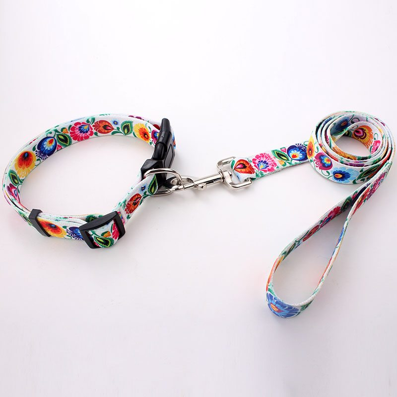 Dog Collars&Leashes Factory Direct: Polyester Designer Dog Collars&Leashes