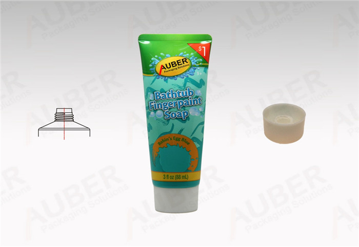 Plastic Laminated Skin Care Tube in D40mm with Screw On Cap