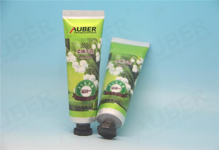 Nature Green Aluminum Plastic Tube for Cosmetics
