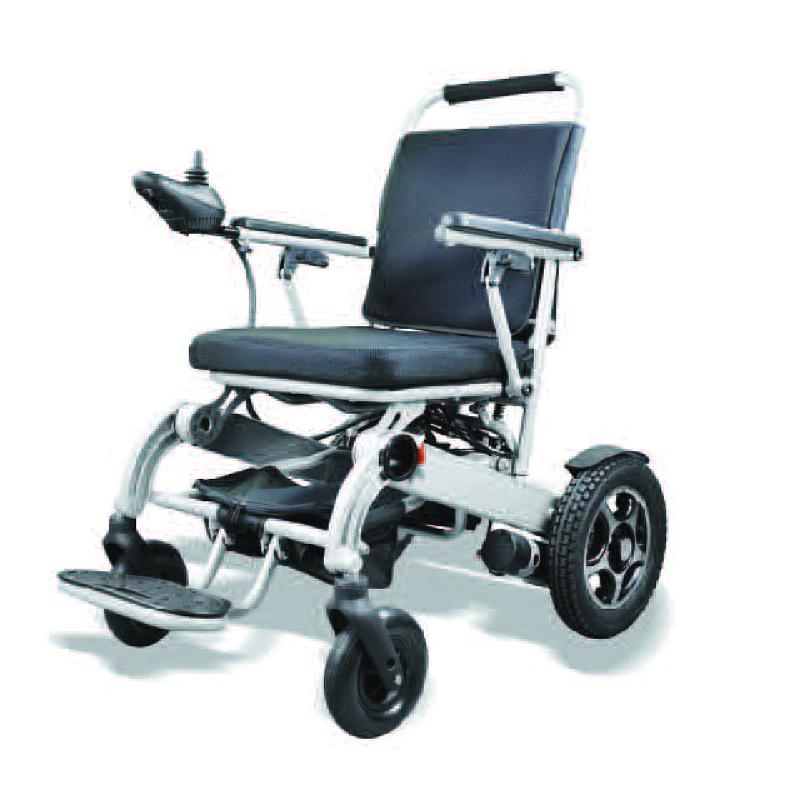 Liggewig opvoubare elektriese rolstoel