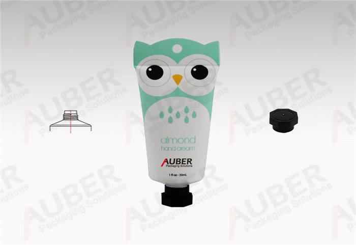 Auber Cosmetic Tube Vendor Owl Shape Hand Cream Tubes in Dia_35mm with Spherical Cap