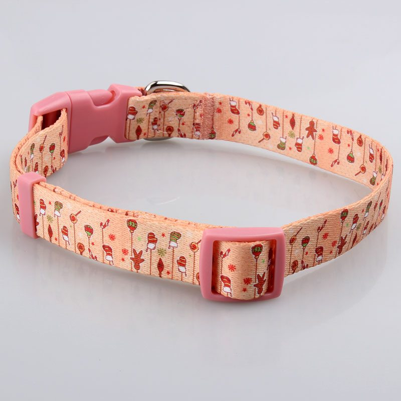 Dye Sublimation Pet Collar: Manufacturer Pet Collar With Custom Logo-QQpets