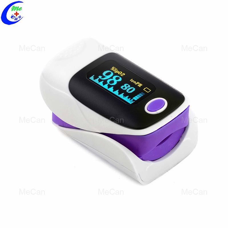 معدات اختبار الدم شاشة LED مقياس التأكسج بنبض الإصبع