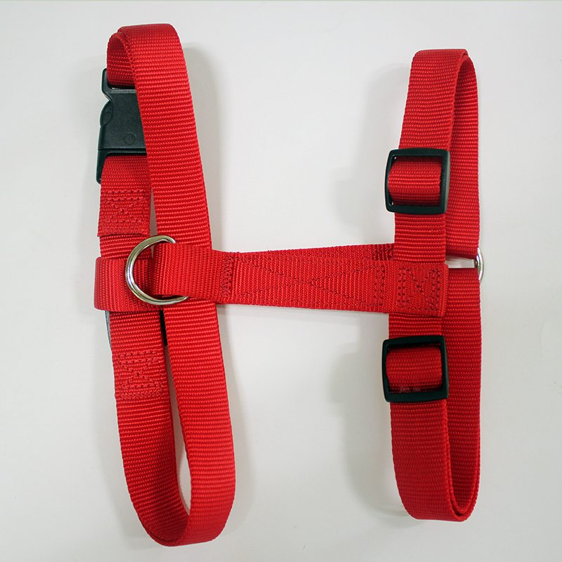 Red dog harness for sale: 2020 New style dog harness nylon adjustable