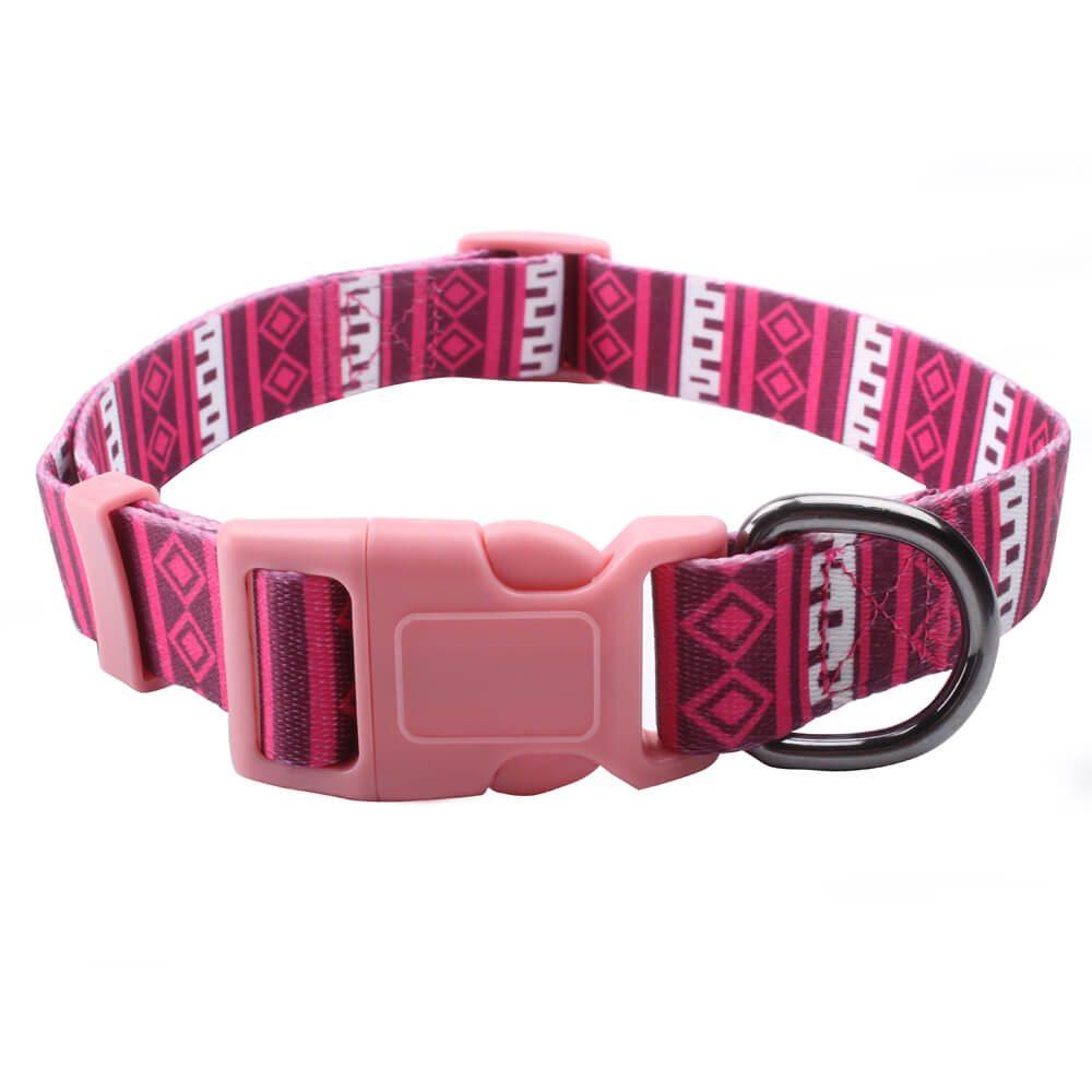 Colliers de promenade de chien: Colliers de chien directement d'usine avec logo-QQpets de sublimation