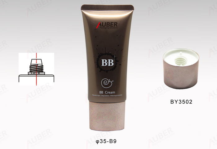 1.5 oz Eco Plastic tubes with screw on lids For BB Cream