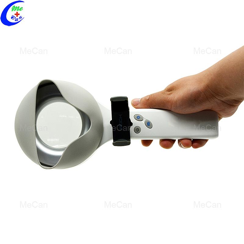 CE FDA ISO-goedgekeurde UV-lamp Woods-lampontleding vir fisioterapie