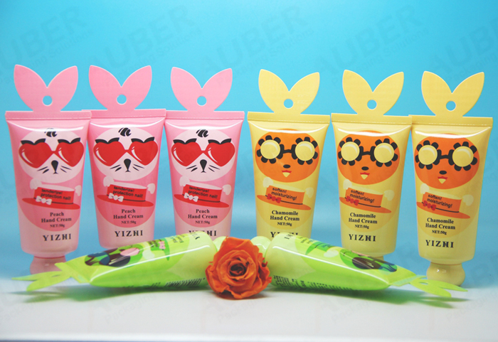 Fish tail shaped cosmetic tube for children
