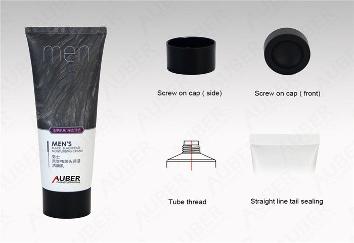 Cosmetic Squeeze Tube For Men Skincare Product