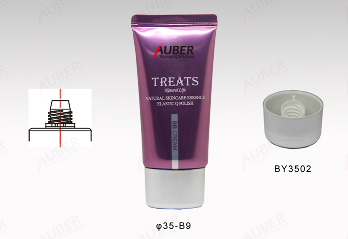 Natural Essence Cosmetic Tube Oval In 35mm