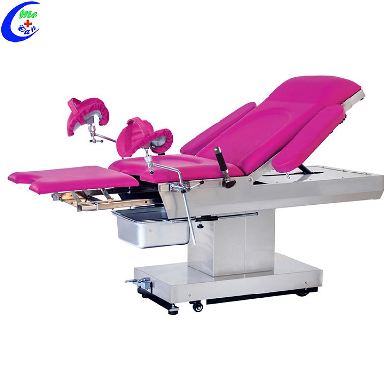 Ginekologiese toerusting Ginekologiese eksamenleerstoel, Ginekologiese ondersoektabel