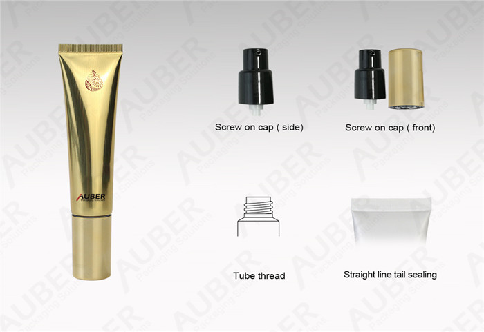 Airless Aluminum Cosmetic Tubes