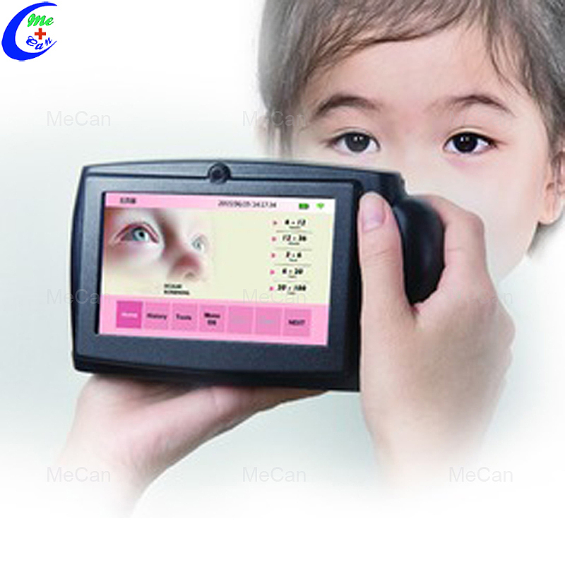فحص بصري لرؤية الأطفال بمقياس إنكسار تلقائي يتم حمله باليد
