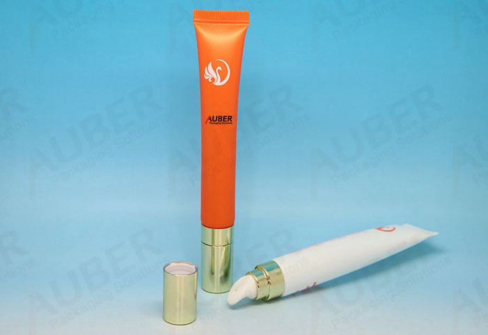 Message Head Lip Gloss Tube with Silver Cap