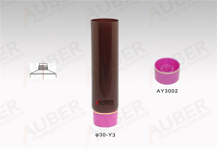 D30mm Makeup Plastic Tube with Screw On Cap