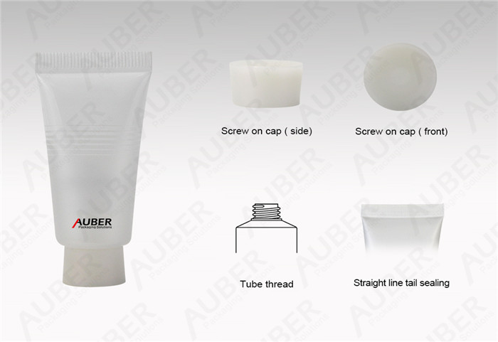 D22mm Face Cleansing Gel Packaging Tube Fatory with Screw On Cap