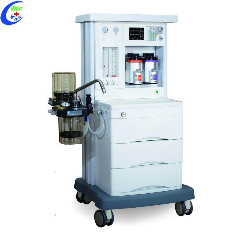 anesthesia machine with ventilator