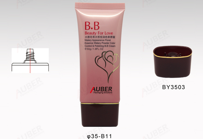 D35mm Oval Tube Packaging for Cosmetics