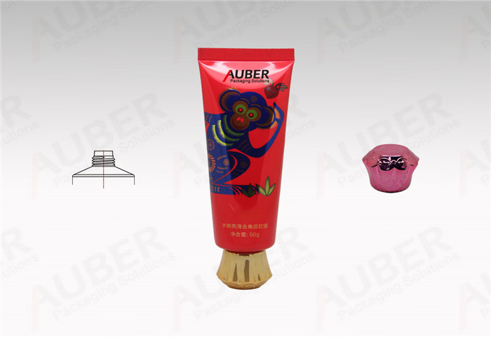 Polyfoil Tube in Dia.30mm with with Metallic Plum Cap for Body Scrub