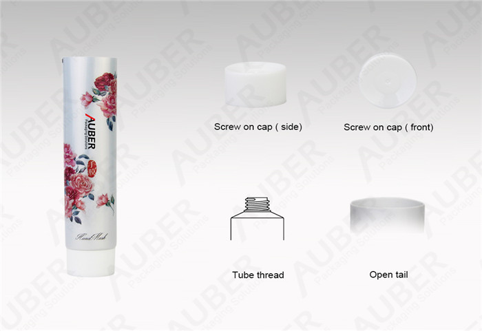 D22mm CMYK Printed Aluminum Laminated Toothpaste Tubes with Screw On Cap