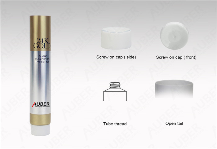 D22mm High Glossy Aluminum Laminated Tubes with Screw On Cap